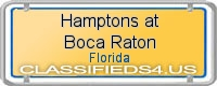 Hamptons at Boca Raton board
